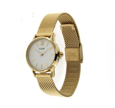 Orologio- Cluse- La- Vedette- Mesh- Gold- CL50007