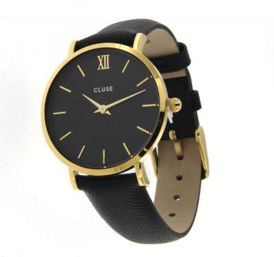 Orologio- Cluse- Minuit- Gold- CL30014